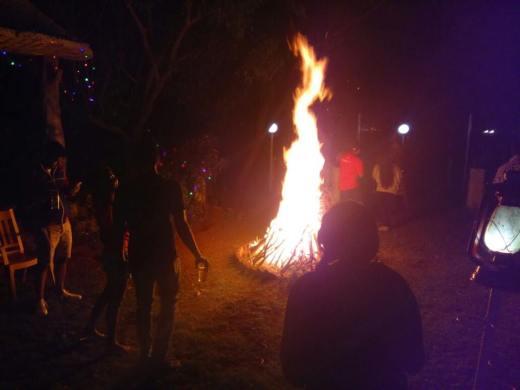 B..B..Bonfire!